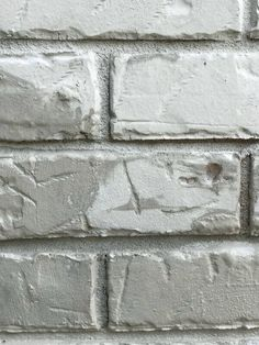 We changed the exterior of our home this summer and are amazed with the stunning results! Here is how to Limewash a Brick home featuring Romabio Paints in Nube Gray. Farmhouse Exterior Colors, Exterior Stain, Exterior Paint Colors For House, Whitewash Brick House, Black Brick Fireplace, House Siding Options, Grey Brick Houses, Stained Brick, Painted Brick Walls