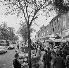 Market Place, St Albans, Hertfordshire St Albans, Parthenon, Bus Station, Vintage London, Watford, Great Britain, Past, England, Street View