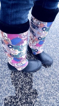 Uauhh wellies galibelle from Portugal :) Thank's for share Karine!!!  <3 galibelle