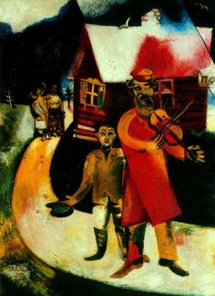 Marc Chagall - The Fiddler (1911-1914)