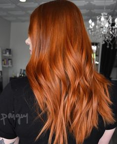 Hair color cuivre blonde ombre dyes 44 ideas - All For Hair Color Trending Shades Of Red Hair, Red Hair Color, Copper Hair Colors, Cabelo Rose Gold, Reverse Ombre Hair, Auburn Hair, Dye My Hair, Ginger Hair, Hair Day