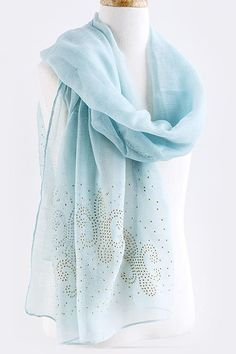 fleur de lys scarf <3