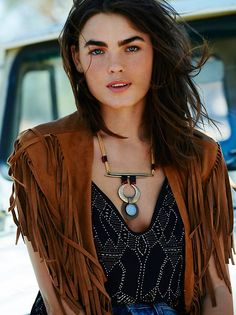 Badlands Vegan Suede Collar at Free People Clothing Boutique