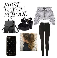 Designer Clothes, Shoes & Bags for Women First Day School, Shoe Bag, Polyvore, Stuff To Buy, Shopping, Collection, Design, Women, Art