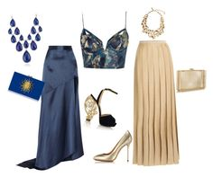 """""""Untitled #465"""" by elizmweiss ❤ liked on Polyvore featuring Zimmermann, Michael Lo Sordo, Missoni, Charlotte Olympia, Oscar de la Renta and Blue Nile"""