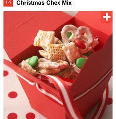 Christmas chew mix