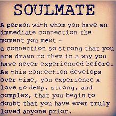 Soulmate - a person