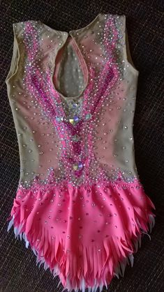 Made To Measure Rhythmic Gymnastic Leotard Pink Combine Your Colors 3000 Crystals - Dance Leotards Rhythmic Gymnastics Leotards, Dance Leotards, Kids Leotards, Ss16, Pinterest Color, Kids Dance Wear, Diy For Girls, Pink, Custom Made