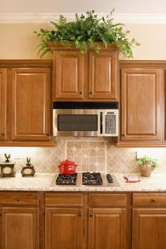 Supreme Kitchen Remodeling Choosing Your New Kitchen Countertops Ideas. Mind Blowing Kitchen Remodeling Choosing Your New Kitchen Countertops Ideas. Maple Kitchen Cabinets, Kitchen Redo, Kitchen Backsplash, Kitchen Countertops, New Kitchen, Kitchen Remodel, Kitchens With Oak Cabinets, Backsplash Ideas, How To Restain Kitchen Cabinets