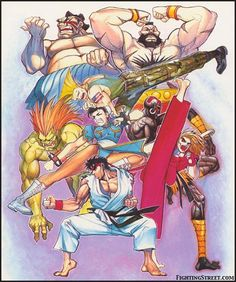 Street Fighter 2.   #streetfighter