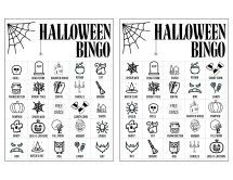 Halloween Bingo Printable Game Cards Template - Paper Trail Design Informations About Halloween Bing Free Halloween Games, Halloween Bingo Cards, Halloween Worksheets, Easy Halloween Decorations, Halloween Activities For Kids, Halloween Kids, Halloween 2020, Kid Activities, Halloween Crafts