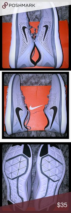 NIKE FLEX 2016 RN (GS) Brand new Nike flex 2016 rn shoes Size 5y/Color gray Nike Shoes Sneakers