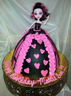 Monster High Cake. By Jammies Cakes