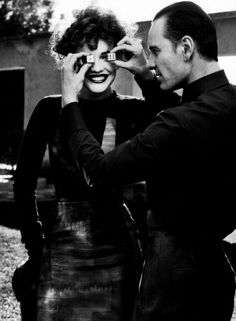 Modern Times   Natalia Vodianova and Michael Fassbender by Craig McDean.