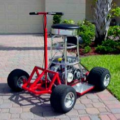 Barstool Racer.  A future project.