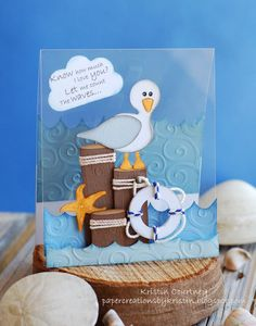 Paper Creations by Kristin: By The Sea Card
