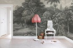Rebel Walls - Storytime - Jungle Land Vintage Mural - Paper Room