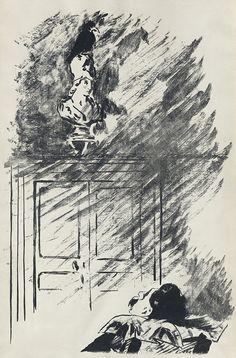 Édouard Manet Illustrates Edgar Allan Poe's The Raven, in a French Edition Translated by Stephane Mallarmé (1875)