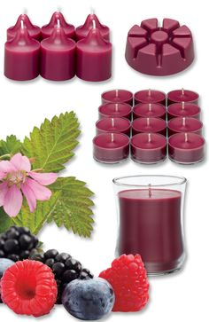 Introducing Berry Bramble. Like a warm slice of fruit pie fresh from the oven, you'll be eager to share this blend of sweet, ripe berries with a touch of wood notes as you entertain friends and family at your next fall gathering.