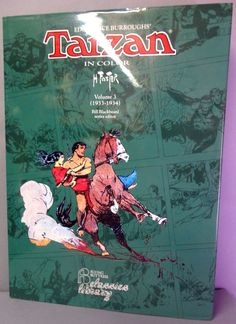 TARZAN of the Apes by HAL FOSTER Vol 3 1933-1934 Edgar Rice Burroughs Color Newspaper comic strips Reprints