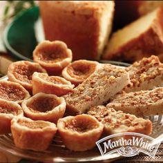 Cinnamon Pecan Shortbread Bars from Martha White®