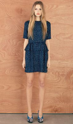 Karen Walker Sea Chain dress in Spotted Twill-- she makes the best easy-breezy and chic dresses and tops.