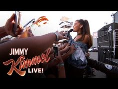 "Jimmy Kimmel Live: Ariana Grande Performs ""Dangerous Woman"""