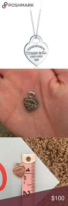 Authentic Tiffany's charm Small heart charm from Tiffany's! 100% authentic. Comes with with Tiffany's box. Charm only. Tiffany & Co. Jewelry