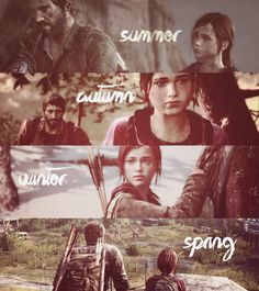My favorite was winter and summer... Love the last of us.