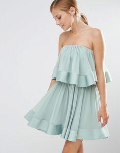 Image 1 ofKeepsake Ruffle Mini Dress