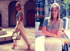 STYLE LOVER - MAXI PINK SKIRT (by Victoria Kemerer) http://lookbook.nu/look/3418829-STYLE-LOVER-MAXI-PINK-SKIRT