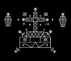vodou veve baron samedi voodoo_symbol