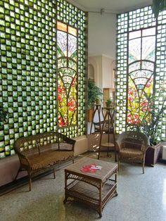 Nancy : Villa Bergeret, jardin d'hiver de Joseph Janin (système Falconnier) Source: Fredéric Descouturelle