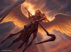 Sigarda, Heron's Grace | Art by Chris Rahn http://magic.wizards.com/en/articles/archive/feature/shadows-over-innistrad-art—week-1-2016-03-18