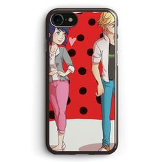Ladybug Love Apple iPhone 7 Case Cover ISVF208