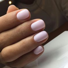 Want some ideas for wedding nail polish designs? This article is a collection of our favorite nail polish designs for your special day. Trendy Nails, Cute Nails, Classy Nails, Hair And Nails, My Nails, Light Pink Nails, Pale Pink Nails, Pink Shellac Nails, Pink Light