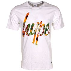 Hype Massive Floral Script Logo Tee Hype Clothing, Script Logo, Detroit, Tees, Floral, Mens Tops, T Shirt, Inspiration, Clothes