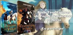 ALEGRIA DE VIVER E AMAR O QUE É BOM!!: BOOKTOUR #06 - LIVROS LÍNGUA DE FOGO E TEMPESTADE ...