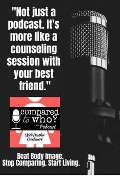 Stop Comparing and start living with this FUN and easy to listen to podcast! Compared to Who? is the podcast for Christian women who want freedom from comparison and body image issues. Christian Women, Christian Living, Christian Faith, Christian Music, Christian Quotes, Healthy Body Images, Stop Comparing, Sisters In Christ, Comparing Yourself To Others
