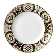 """Royal Crown Derby Chelsea Garden Bread & Butter Plate 6"""" $105 This has the wide border"""
