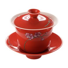 Red Orchid Gaiwan