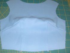 Sewingadicta: Burdastyle, August 2012, # 133. Sew perfect corners, tutorial. Coser esquinas perfectas, tutorial.