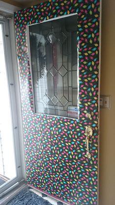 Front door decoration.