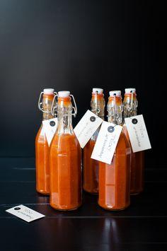 Aprikosenketchup  Rezept ergibt 2 Liter, eignet sich auch wunderbar für Currywurst