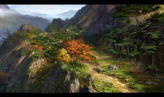 tea garden by dawnpu on DeviantArt