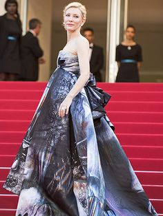 The Best and Boldest Looks from the Cannes Red Carpet! | CATE BLANCHETT | in a Giles gown at the Carol premiere.