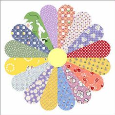 Block of the week / month Free Sunbonnet Sue quilt patterns Dresden Plate Patterns, Dresden Plate Quilts, Barn Quilt Patterns, Pattern Blocks, Quilting Tutorials, Quilting Projects, Quilting Designs, Quilting Ideas, Quilting Patterns