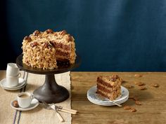 Mama's German Chocolate Cake Recipe   Bake a cake that would make mama proud. German chocolate cakes are known for being rich, indulgent cakes, so enjoy a slice with a glass of milk.