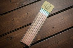 Field Notes No. 2 Woodgrain Pencil 6-Pack