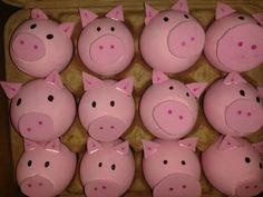 Eggs pig